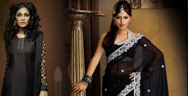 Salwar in Black