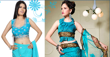 Salwar in Blue