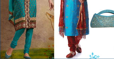 Sherwani in Blue