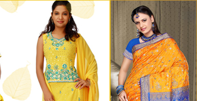 Salwar in Yellow