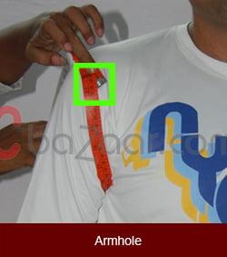 Arm hole