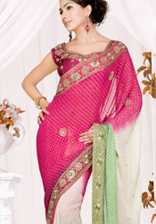 Beautiful Shaded Saree