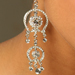 White Stones Designer Earrings