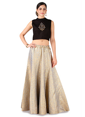 9rasa Off White Lehenga Choli