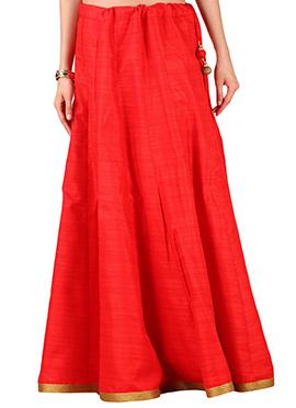 9rasa Red Skirt
