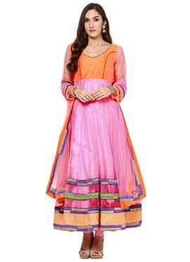 Pink Home India Churidar Suit