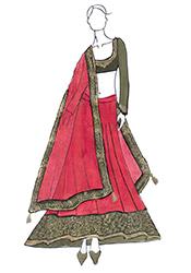 DIY Priyanka Chopra Pink Lehenga Choli