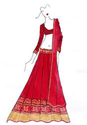 DIY Sonam Kapoor Georgette Lehenga Choli
