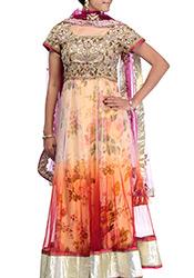 Madhuri Dixit Ankle Length Anarkali Suit