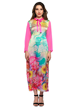Admyrin Multicolored Printed Kurti