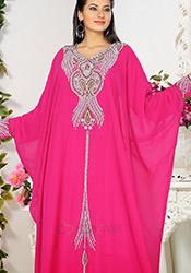 Adorable Georgette Farasha Kaftan