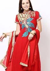 Alluring Georgette Anarkali Suit