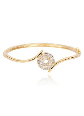American Diamond Stone Studded Bangle Bracelet