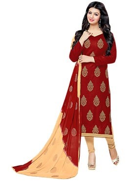 Ayesha Takia Red Straight Suit