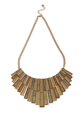 Brown Colored Necklace