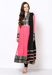 Charismatic Net Anarkali Suit