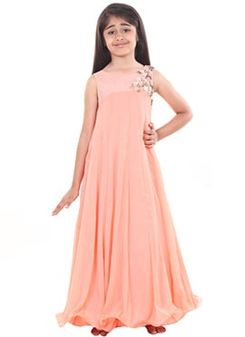 Chiquitita Peach Kids Gown