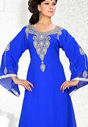 Elegant Blue Georgette Kurti