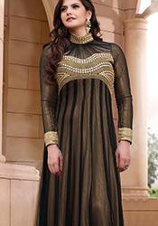 Exquisite Zarine Khan Floor Length Kalidar Suit