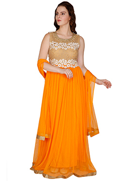 Famous By Payal Kapoor Floor Length Anarkali Suit