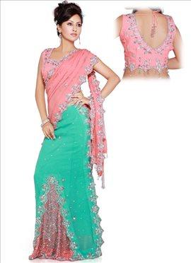Glamorous Readymade Saree