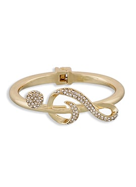 Gold One Stop Fashion Stone Bracelet