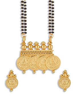Golden Color Deity Coin Mangalsutra