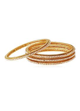 Golden Colored Bangles
