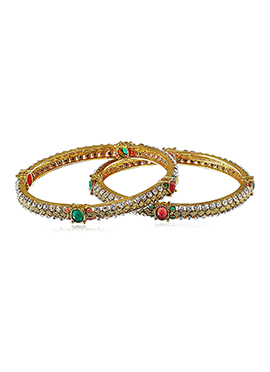 Golden Colored Bangles
