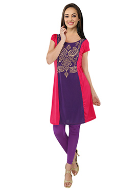 Ira Soleil Polyester Knitted Kurti
