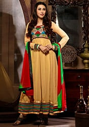 Karisma Kapoor Georgette Ankle Length Anarkali