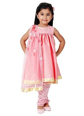 Kidology Pale Pink Baby Anarkali
