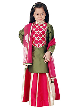 Kidology Pink Sitara Lacha