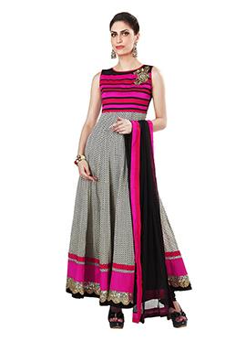 Ks Couture Cotton Ankle Length Anarkali Suit
