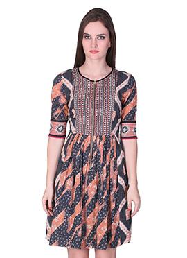 Label Ritu Kumar Peach Dress