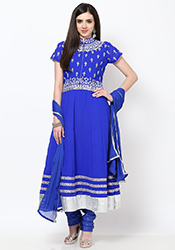 Lovely Georgette Anarkali Suit