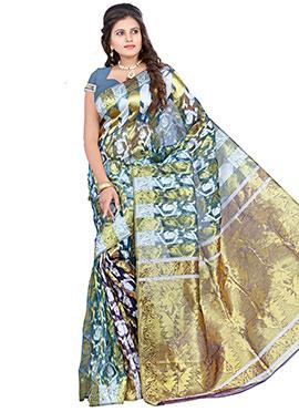 Benarasi Silk Jacquard Pattern Saree