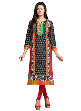 Multicolored Cotton Kurti