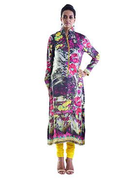 Multicolored Printed Kurti