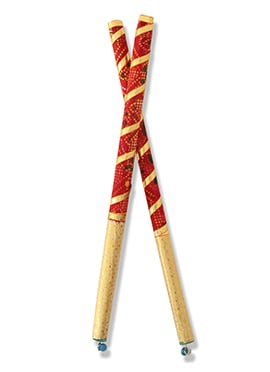 Navratri Celebrations Wooden Dandiya Sticks
