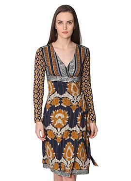Navy Blue Label Ritu Kumar Dress