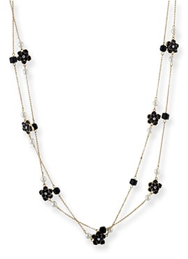 One Stop Fashion Golden N Black Layer Necklace