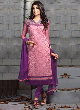 Pastel Pink Salwar Suit