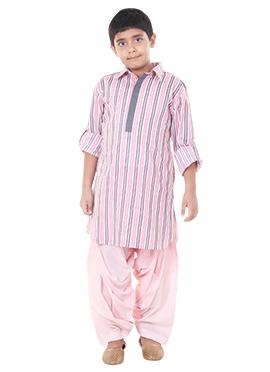 Pink Chiquitita by Payal Bahl Kids Kurta Pyjama