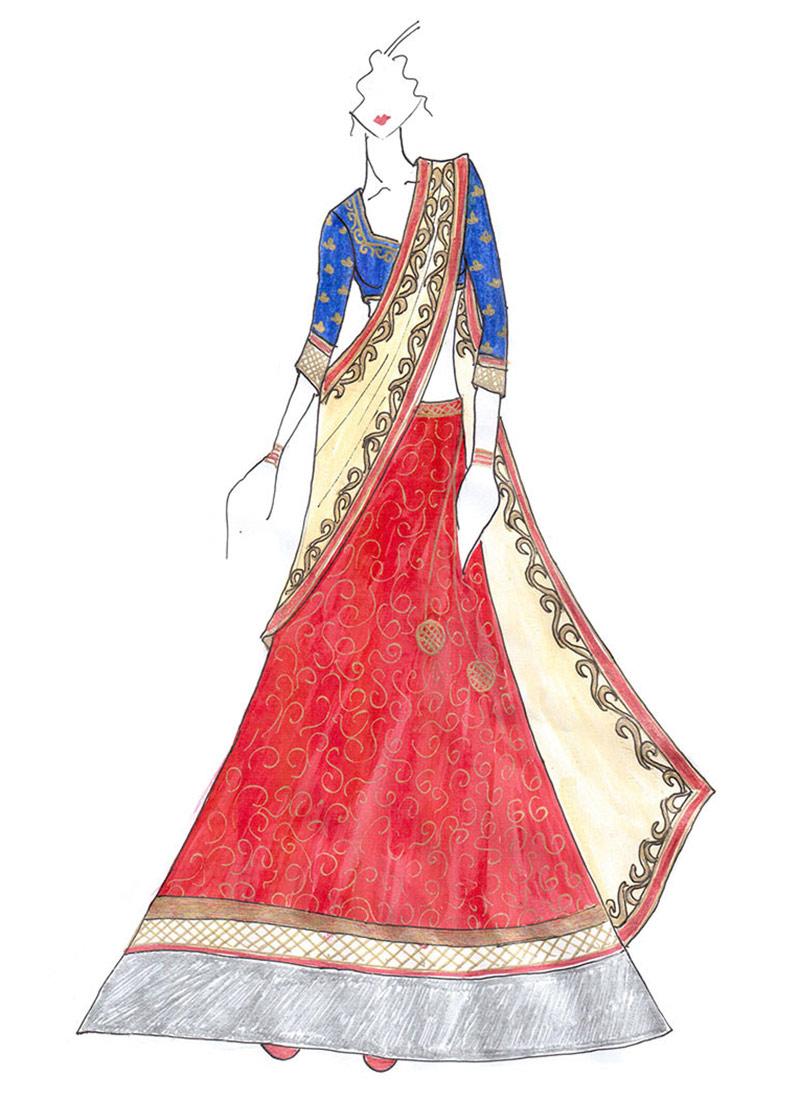 Madhuri dixit lehenga online shopping