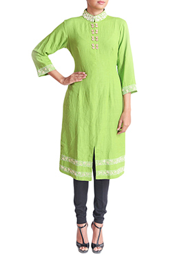 Regal Armoire Green Kurti