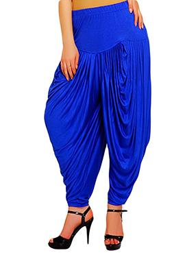 Royal Blue Harem Pants