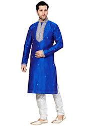 Royal Blue Kurta Pyjama