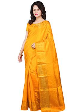 Self Designed Art Kancheepuram Silk Saree