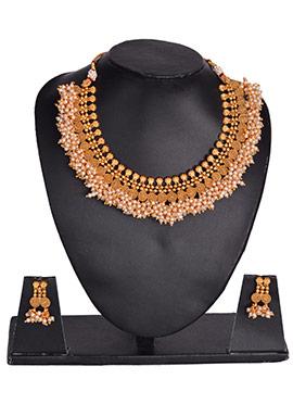 Semi Circular Necklace Set